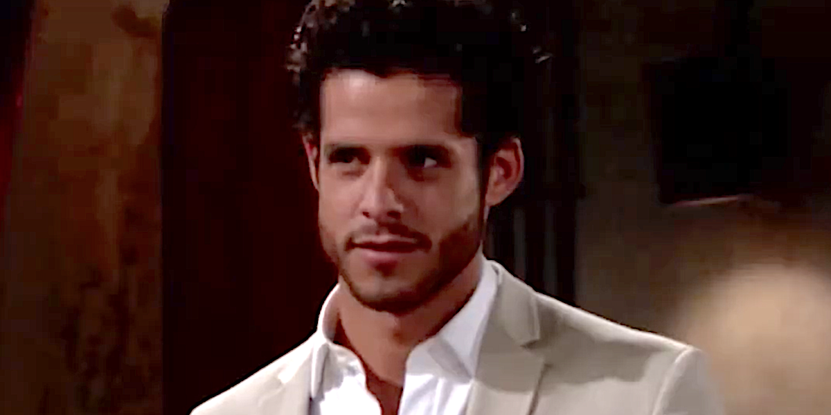 Miles Gaston Villanueva on The Young and the Restless
