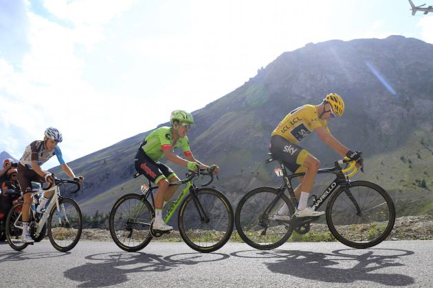 Thumbnail Credit (cyclingweekly.co.uk) (Photo: Yuzuru Sunada): The race favourites climb the Col d'Izoard on stage 18 Credit: Yuzuru Sunada