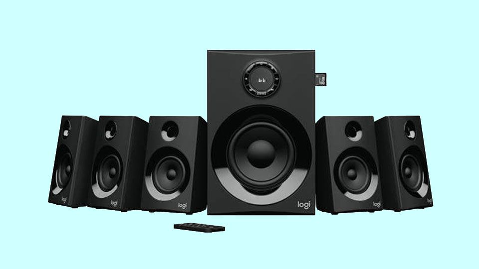 Logitech Z607 5 1 Speakers Get You Surround Sound On A