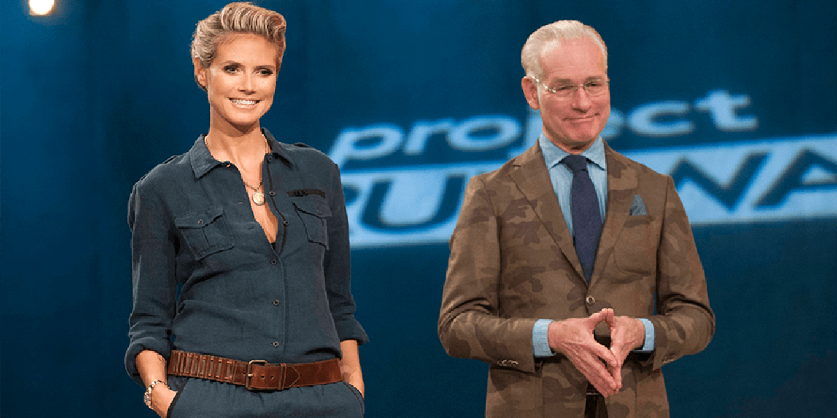 Why Project Runway's Heidi Klum and Tim Gunn 'Jumped Ship' To Amazon's Making The Cut - CINEMABLEND