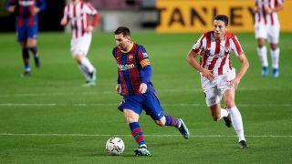 Copa del Rey live stream - Athletic Club vs Barcelona and Lionel Messi