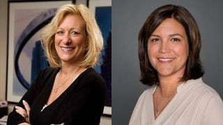 Meredith Corp. has named Deborah Collura (left) VP and general manager of its Atlanta Duopoly and Corey Hanson (right) VP and GM of the company's WALA-TV.
