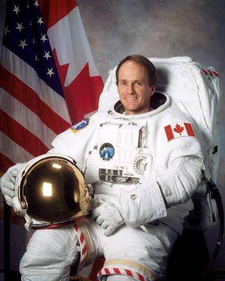 Astronaut Steven MacLean