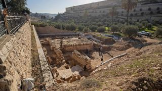 The remains of a 2,000-year-old ritual bath and a 1,500-year-old church were found at the site of Gethsemane, a place near Jerusalem where the Bible says that Jesus was betrayed by Judas and arrested.
