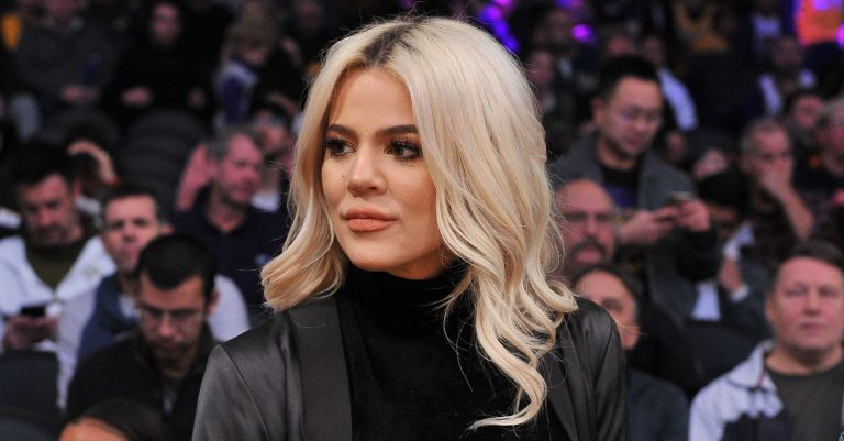 Khloe Kardashian attends a basketball game between the Los Angeles Lakers and the Cleveland Cavaliers at Staples Center on January 13, 2019 in Los Angeles, California.