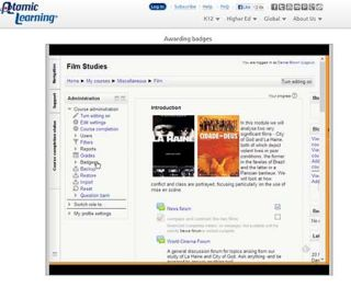 Video Tutorial: Moodle 2.5 – Awarding Badges Training