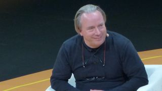 Linus Torvalds at the Open Source Summit, Lyon in 2019
