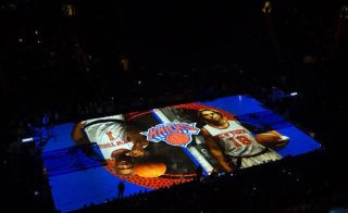 WorldStage Video Projection in Madison Square Garden