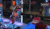 A T-Rex Was On American Ninja Warrior And It Was Pretty Epic, Despite The T-Rex Arms