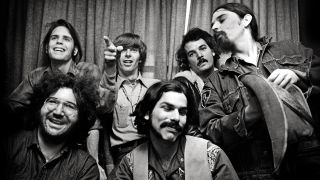 a shot of the grateful dead back in the 60s