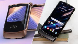 Motorola Razr 5G vs. Motorola Razr 2019