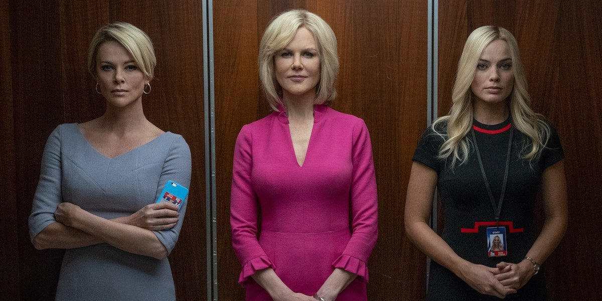 Charlize Theron, Nicole Kidman, Margot Robbie in Bombshell