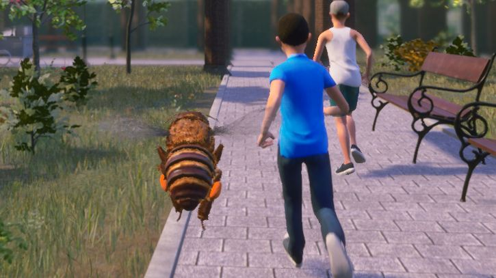 Bee Simulator is more action game than sim, but at least you can sting kids in the head