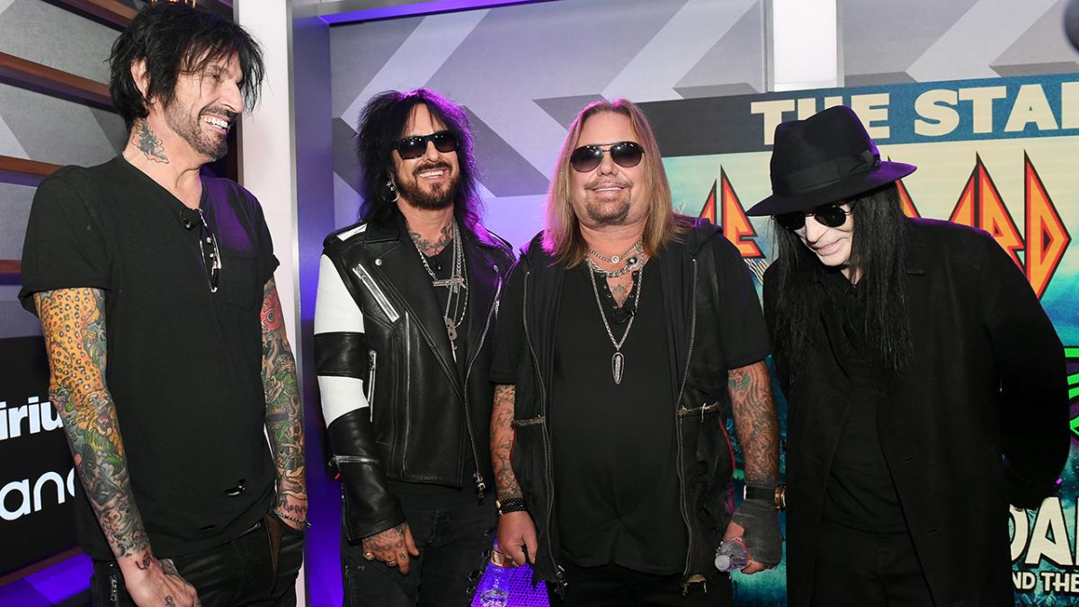 Motley Crue's Nikki Sixx: We missed being in a band together