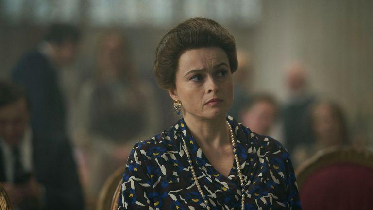 Princess Margaret in The Crown played by Helena Bonham Carter