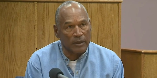 O.J. Simpson parole hearing at the Lovelock Correction Center