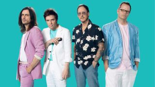 After covering Toto's Africa and Rosanna, Weezer go all-in with The Teal Album featuring their take on a selection of rock classics