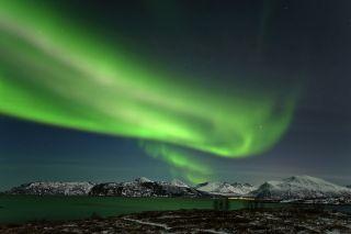 Aurora over Tromso, Norway #3