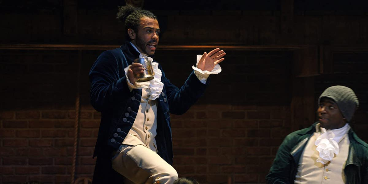 Daveed Diggs as Lafayette in Hamilton