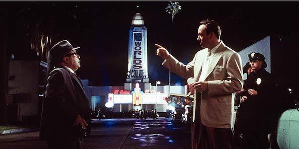 Danny deVito and Kevin Spacey in LA Confidential