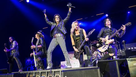 Alice Cooper live at the 02, London