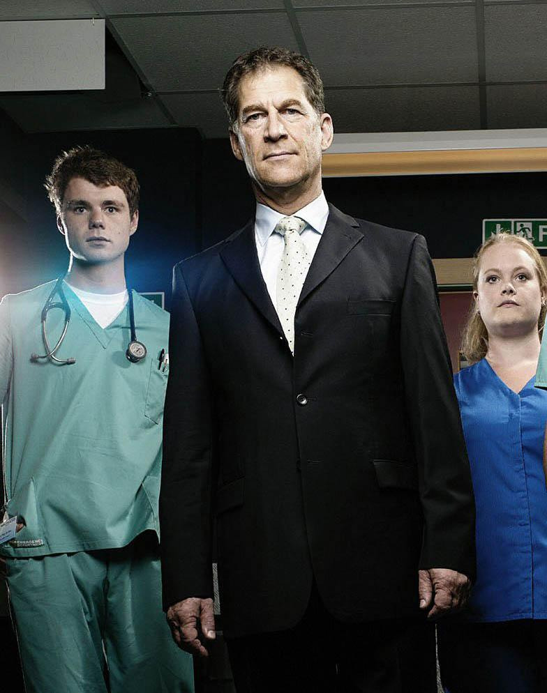 Simon MacCorkindale to quit Casualty