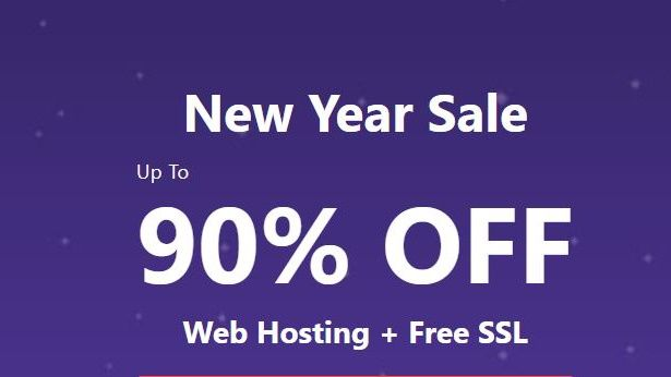 There's a massive 90% off on this web hosting deal...but for this weekend only