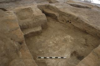 ancient human burial