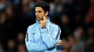 Mikel Arteta Manchester City