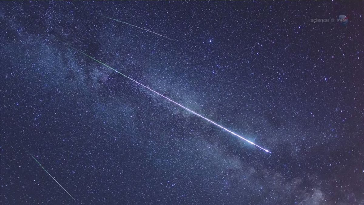 Lyrid meteors face off against a bright moon this week