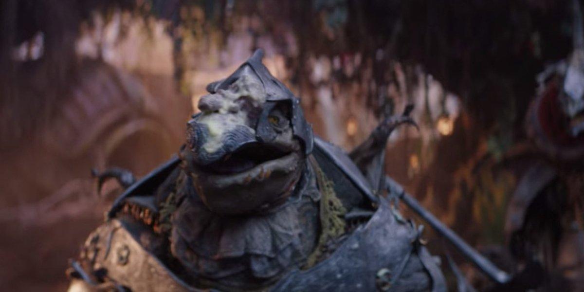 Awkwafina as skekLach in The Dark Crystal: Age Of Resistance