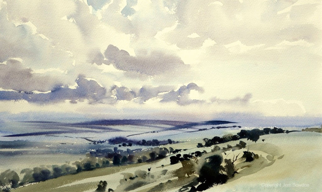 Get to grips with the wet-in-wet painting technique