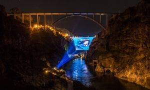 Digital Technology Companies Collaborate to Visualize on Hoover Dam