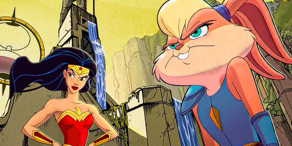 Wonder Woman and Lola Bunny in Space Jam: A New Legacy