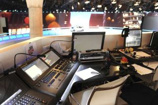 Hog 4 consoles for Frankfort Auto Show
