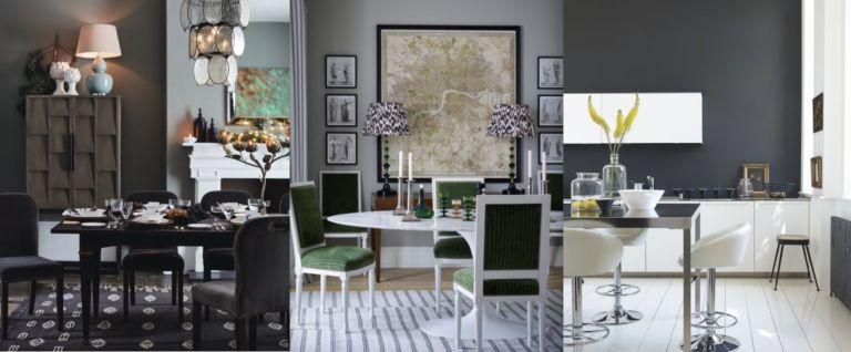 Grey dining room ideas