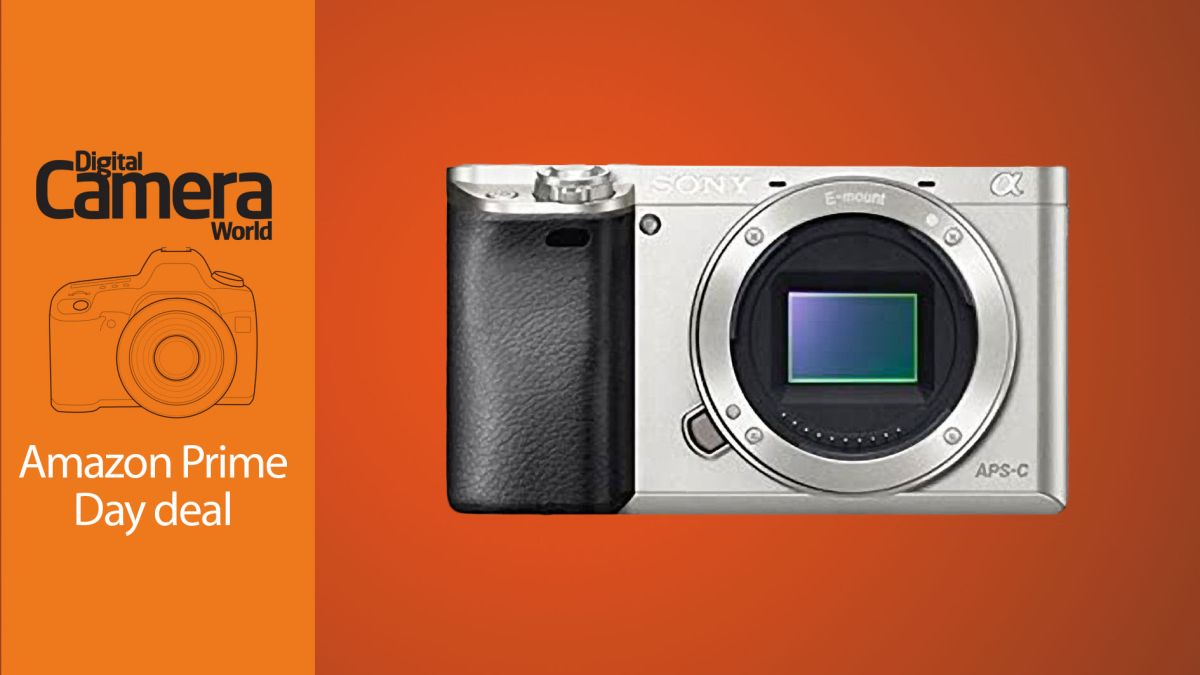 Get the Sony A6000 body-only in silver for just $345 on Amazon Prime Day