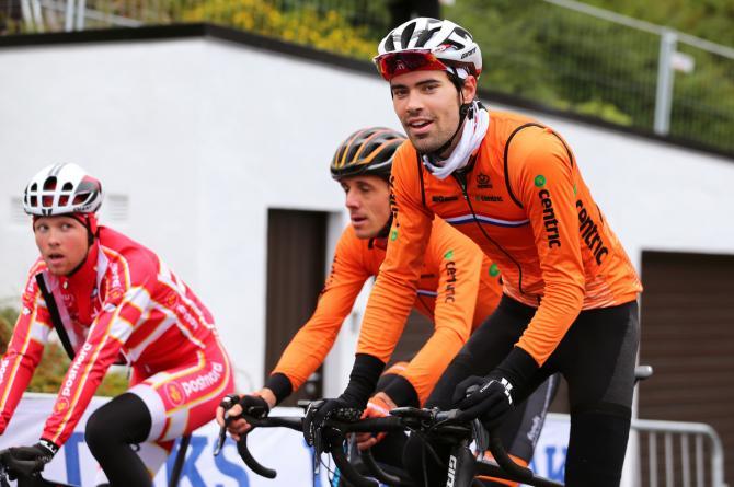 Smiling World TT champion Tom Dumoulin (Netherlands)