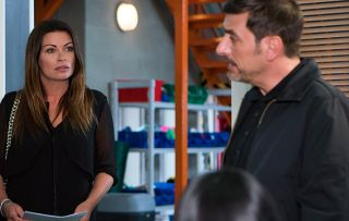 Coronation Street - Peter overhears Carla talking about buying the factory