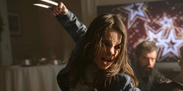 X-23 in Logan attacking
