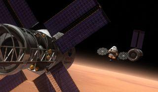 Mission to Mars Vehicle