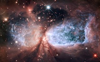 Hubble Serves Up a Holiday Snow Angel