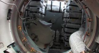 ATV-4 Interior Following Hatch Opening