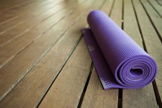 An image of a yoga mat