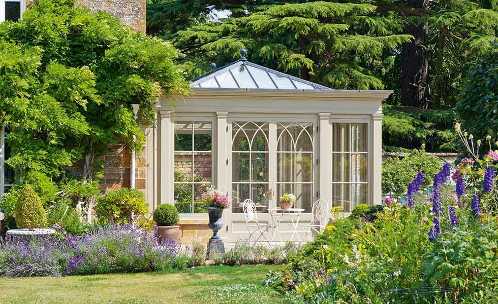 How to add a traditional conservatory orangery or sunroom for Adding a conservatory