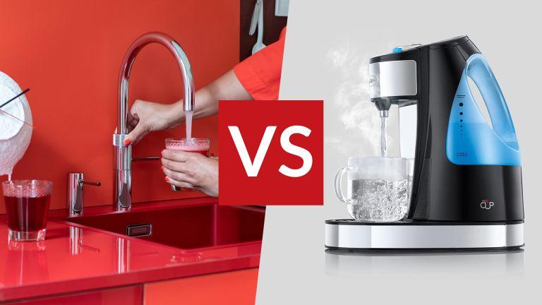 Boiling water tap vs instant kettle vs kettle