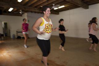 Women exercising, obesity, health
