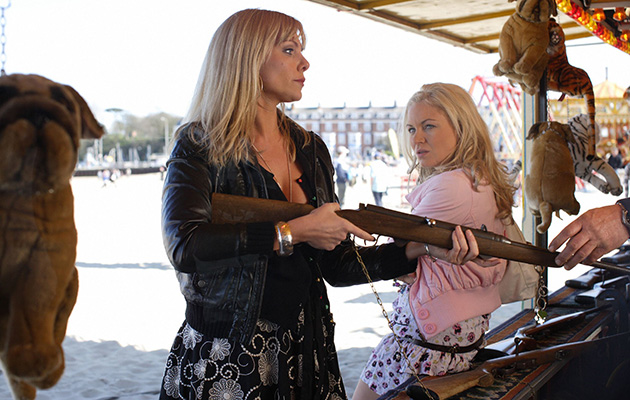 10 Years Ago in the Soaps Ronnie Mitchell, Roxy Mitchell, EastEnders