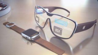 Un concepto de las gafas de Apple