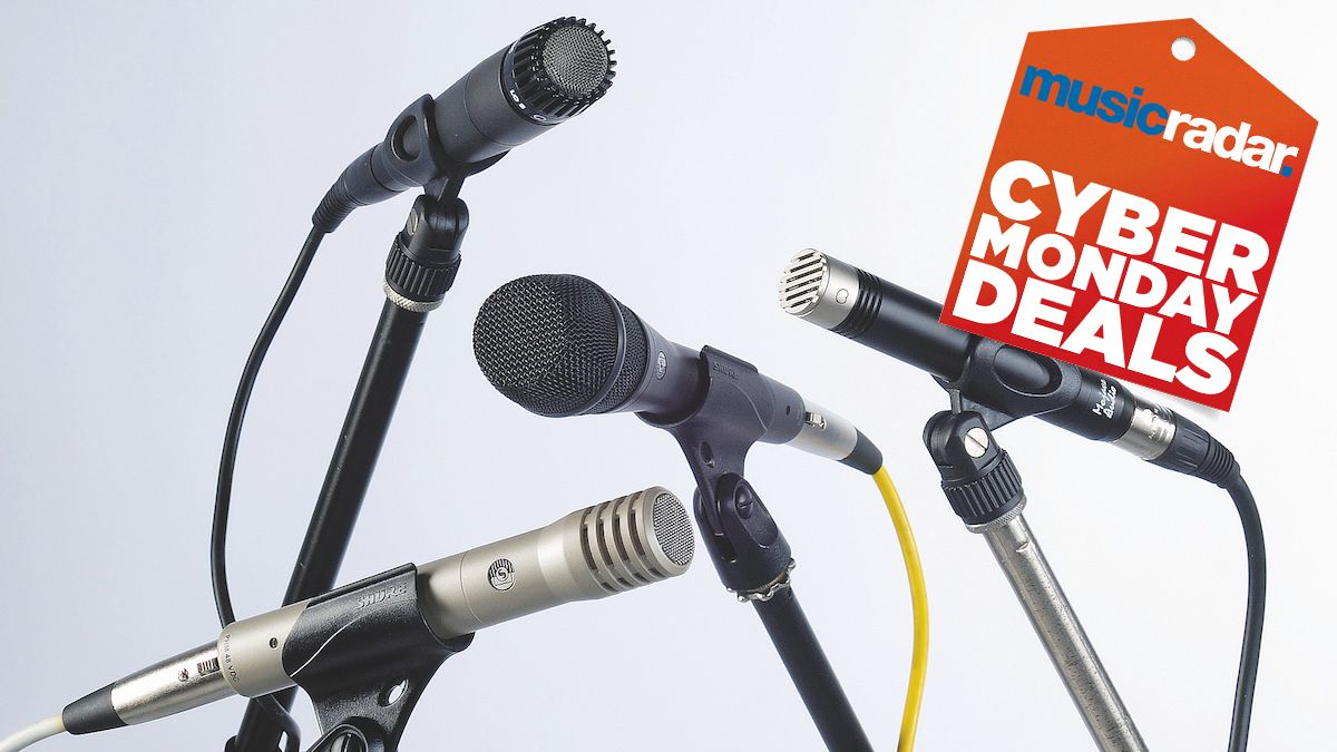 Cyber Monday 2020 microphone deals: top vocal and instrument mic bargains